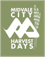 Midvale City Harvest Days Logo