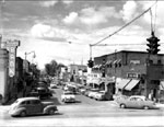 Historical Photo of Midvale City Main Street