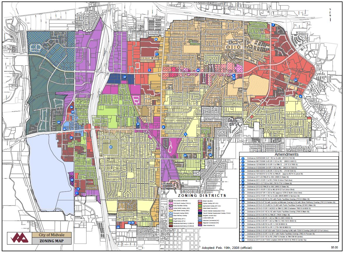 Utah Heritage Foundation FAQs About Preserving Neighborhoods The - Los angeles zoning map