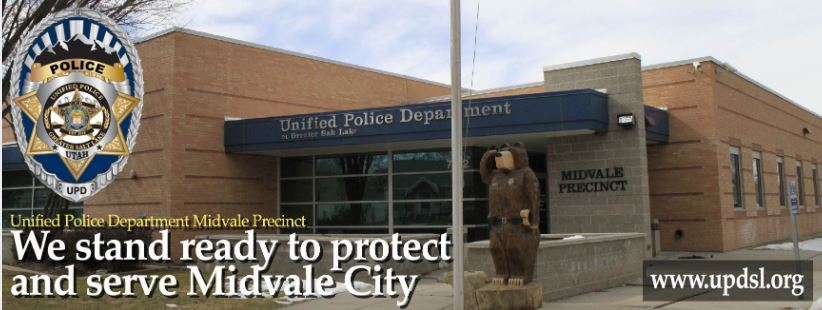 Midvale police department building