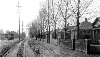 Historical Photo of a Midvale City Street