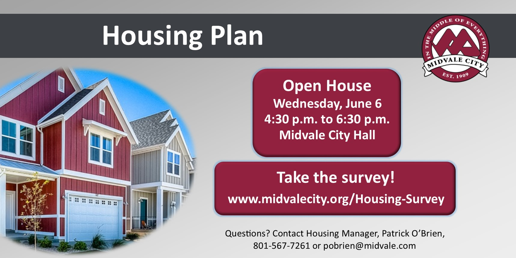 Housing Plan Open House and Survey
